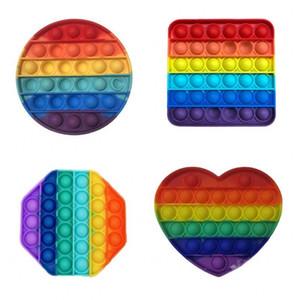 Chegada nova Descompressão colorida Brinquedos sensoriais Bubble Sensory Toy Autism Ansiety Stress Reliever para estudantes Trabalhadores de escritório