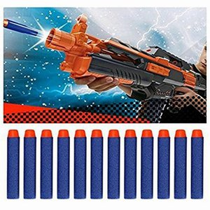 7.2cm For NERF N-Strike Elite Series toys Refill Blue Soft Foam Darts Gun Toy Bullet Safe and non-toxic