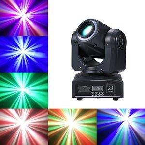 2021 New Disco 60 W 4 Узоры DMX512 RGBW LED движущиеся головки легкий луч звука до DJ Party Lights Slash KW3S