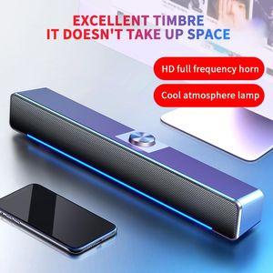 2021 Bluetooth Speaker Wired Computer Sound Bar Wired And Wireless Bluetooth For PC Theater TV Speaker Home Surround SoundBar