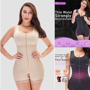 Modeling Strap Slimming Sheath Belly Womens Binders and Shapers Waste Trainer Body Shaper Flat Belly Colombian Girdles Faja Wait LJ201209