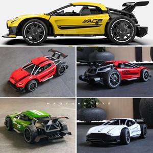 rc 자동차 라디오 제어 경주 자동차 장난감 어린이를위한 2.4g 4ch 1:24 고속 전기 운전 드리프트 선물 장난감