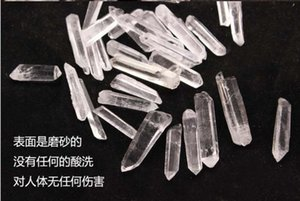Shipping&Pouch!! Wholesale 200G Bulk Small Points Clear Quartz Crystal Mineral Healing Reiki & Good Lucky Energy Mineral Wand 3Xyen Oylhe