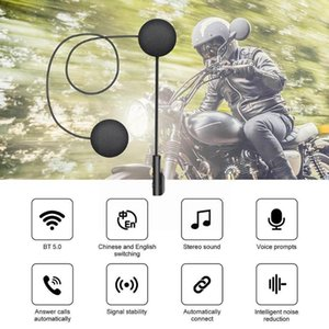 Walkie Talkie 900mah Long Standby Motorcycle Bluetooth 5.0 Headset Riding Connection Wireless Helmet Automatic Z6p8