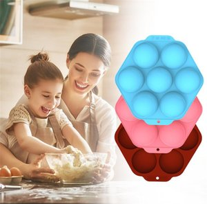Large Semicircle Silicone Cake Mold Mousse Muffin Chocolate Biscuit Baking Mold Tray Kitchen Cake Baking Accessories