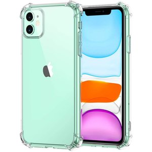 Transparent Phone Cases Soft TPU Silicone Case For iPhone 13 12 11 Pro MAX Mini XS XR 8 7 6 Plus Samsung S20 S21 Ultra FE A22 A32