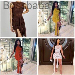 Women Dress Designer Mesh Casual Sexy Slim Tight Ladies Skirt
