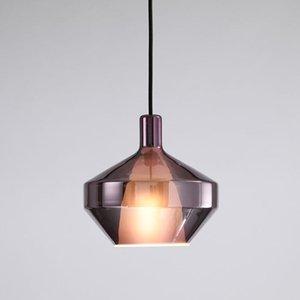 Pendant Lamps Vintage Stone Black Lamp Color Cord Light Design Modern Led Chandelier Avizeler Hanglampen Luzes De Teto