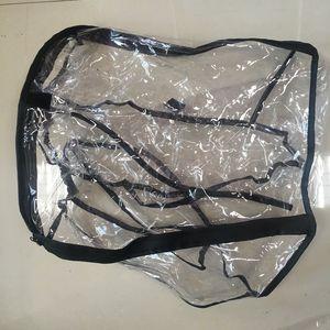 wholesale Original Waterproof Rain Cover Wind Dust Shield For Donna Doona style Baby Strollers pram 100% for kerdad 210311