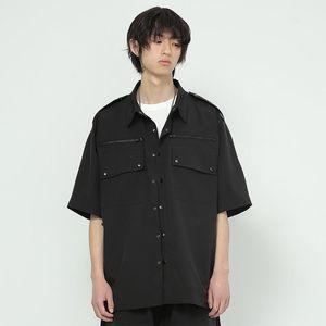 الرجال عارضة القمصان s-6xl 2021 الملابس gd مصفف الشعر الأزياء الصيف ملابس العمل ruffian قميص زائد حجم ازياء