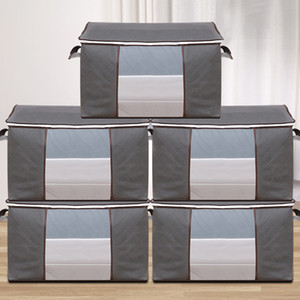 의류 조직 스토리지 가방 퀼트 스토리지 가방 이동 포장 마무리 가방 의류 더플 백 부직형 저장소 GWD5182