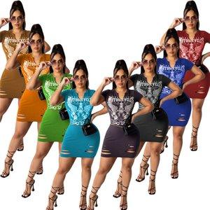 Womens dresses one piece set hoodie dress short sleeve dress skirt mini dress casual dresses women clothes klw6132