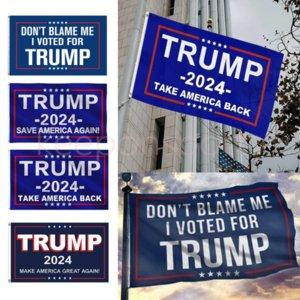 3x5 ft 90 * 150 cm Trumpf Flagge Hängende Wahlfahne 80 Entwürfe Direkte Fabrik Speichern Sie Amerika wieder für 2024 Präsident USA Großhandel