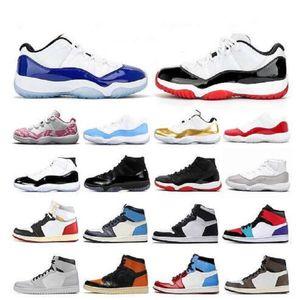 Модующие баскетбольные мужчины 4S 11 25-летие 5 Какие 4s 11s баскетбольные кроссовки с коробкой мужчины оптом