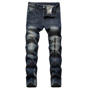 2021 New Fashion Mens Jeans Casual Slim Skinny Blue Jeans pantalon homme Men Trousers Casual Male Hip hop Denim Pants