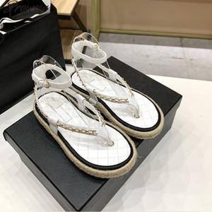 Prowow Designer Brand Ladies Rope Sandali intrecciata Sandali intrecciata Catena Candy Candy Color Summer Scarpe Steps per caviglia
