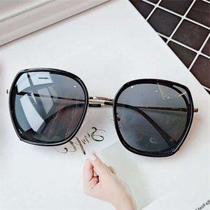 2020 женская корейская версия солнцезащитных очков ретро винтажное круглое лицо тонкие солнечные места вождения солнцезащитные очки очки УФ