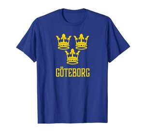 Goteborg, Suecia - Camiseta Swedish Sverige