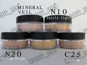 Free Shipping ePacket New Minerals Powder Original Mineral Veil Foundation!N10.N20.C10.Mineral Veil
