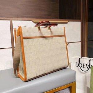 클래식 3A 핸드백 숙녀 패션 Catwalk 핸드백 대용량 쇼핑 핸드백 클래식 배낭 자수 All-Match 숄더 백