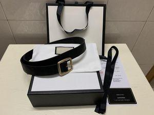 2021Luxury Designer Belts Womens Mens Belts Leather Black Belts Women Snake Big Gold Buckle Men Classic Casual Pearl Belt Ceinture White Box
