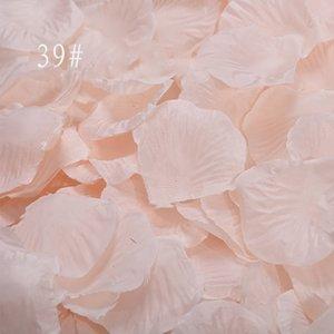 Champagne Rose Petals 1000pcs lot Wedding Accessories Party Home Decorations Polyester Artificial Flowers petales de rose SR01