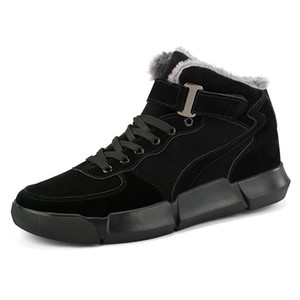 Men's Warm Luxury-branded Winter Thicken the Skin of Men Fashionable Ankle Boots Business Formal Leather Shoes 536 1pj6