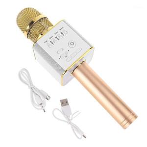 Microfone sem fio Handheld Celular Party Karaoke Player Bluetooth Speaker 203A1