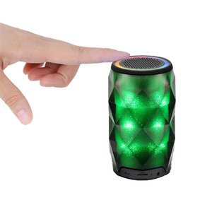 Brilliant Mood lamp Diamond Bluetooth speaker Soaiy S-75 Colorful Light Pluse Subwoofer with Mic & TF Card Slot Breathing Light Lamp Speaker