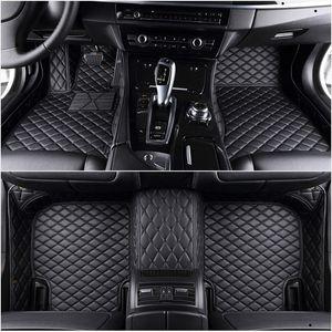 Custom Car floor mats for bmw e46 e36 e60 x5 e70 e30 f10 g30 e30 e34 e39 e90 f10 f20 f30 x1 e53 e87 x3 e83 carpet alfombra