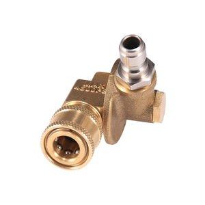 Pistolet à eau Snow mousse Lance pivotement Coupleur rotatif Accessoires de joint rotatif pendant 240 degrés 4500 PSI Nettoyeur de rainure haute pression
