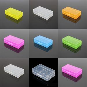 Boîte de sécurité Porte-casse à piles Portable Boîte de sécurité Batteries de conteneur de stockage pour 2 * 18650 ou 4 * 18350 Lithium Ion Batterie E CIG 458 R2