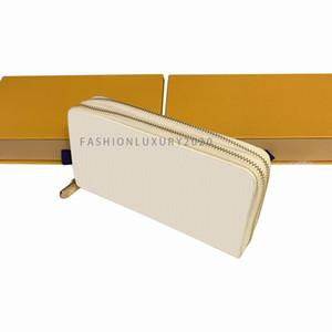 Hot Double Zipper Wallets Men Women Purse Long Wallet Fashion Ladies Clutch Men Shoulder Bag Ladies Handbags with box