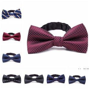 Formal Gentleman Neck Tie kid Bowtie Children's Bow Tie Colorful Bowtie Star Check Polka Dot Stripes FWA4031