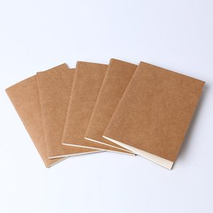 Graffiti retro soft copybook daily memo kraft paper cover diary notebook kraft paper notebook blank note book