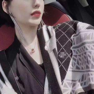 Automne et hiver chaud OCO home Version coréenne épaissie à double face en cachemire multi-faces comme le châle de l'écharpe
