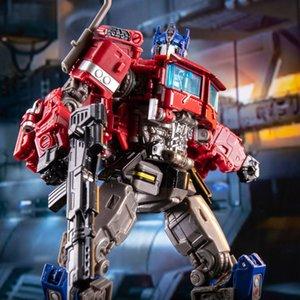 Deformation King Kong H6001-4 Olympus Commander Optimus Po Pillar Children's Puzzle Car Toy Man