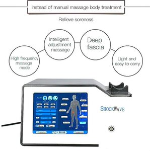 Popolare extracorporeo shockwave terapia medica attrezzature mediche shockwave extracorporeal shock wave therapy machine