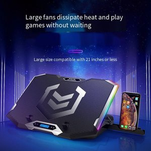 Laptop Cooling Pads XNCORN USB Receiver K9 Gaming Radiator Silent Fan Board Pad Notebook Stand For