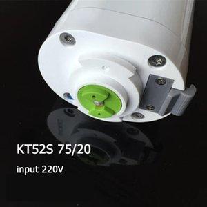Blinds Motorisierte Vorhangspur Dooya Silent Motor KT52S 75W 220V 4 Drähte Arbeit Wifi, Broadlink, Alexa Smart Home Phone Control