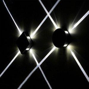 6W 12W LED Lámpara de pared LED Luz Luz Moderna Decoración del hogar Luz para dormitorio / comedor / Baño AC85-265V Barra interior