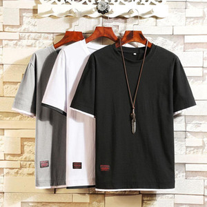 New design Summer t shirt men Short-sleeve Tee Slim fit mens t shirts fashion Style tshirt Casual T-shirt Clothes