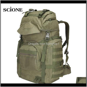 Military Tactical Assault Backpack Army Molle Waterproof Rucksack Large Backpacks For Outdoor Hiking Camping Hunting Bag Xa421Wa Bsiue G5Ueo
