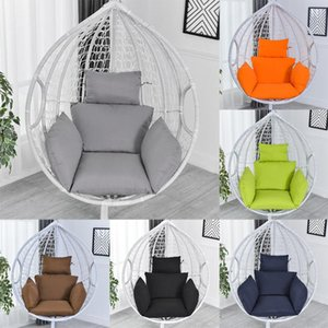 Washable Hanging Hammock Chair Cushion Outdoor Cradle Chair Pad Hanging Egg Cushion Swing Thick Seat Padded