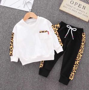Children's clothing Baby Boys Girls Suit Kids Clothing Set Hot Sell Fashion Children's Dresses long-sleeved shirt + pants