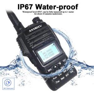 Walkie Talkie IP67 Waterproof ANYSECU WP-68 Quad Band 136-174MHz 240-260MHz 330-390MHz 400-520MHz Handheld Ham Radio