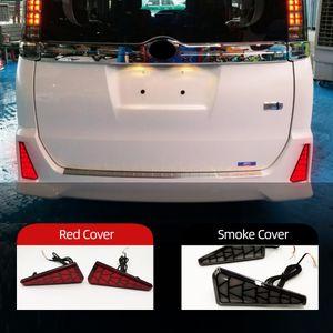 2PCS Auto Lighting LED Rear Fog Lamp For Toyota NOAH VOXY 80 Series Brake Light Rear Bumper Decoration Lamp