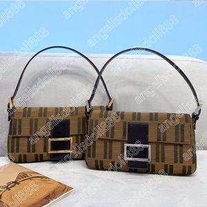 Designers Womens Handbags Purses Vintage Underarm Bag with Date Code Canvas classic Letters Embroidery high quality handbag hobo shoulder bagutte bags