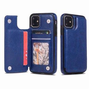 Sıcak Lüks PU Deri Telefon Kılıfı Için iPhone 12 11 Pro Max Cüzdan Kılıf iphone XR XS SE Kapak Kickstand ile Kart Yuvaları
