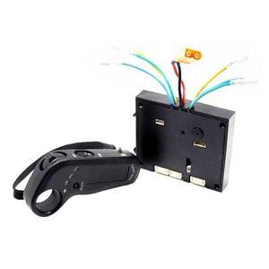 24   36V Dual Motor Electric Skateboard Controller Electric Skateboard Wheel Hub Speed Controller
